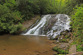 Indian Creek Falls, Great Smoky Mountains National Park, Swain County, North Carolina 1 | by Alan Cressler