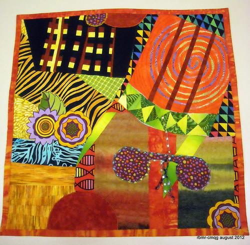 Chicago Modern Quilt Guild August 2012 Art Challenge Flickr