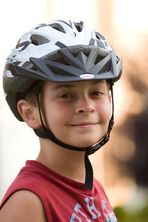 Ian in a Bike Helmet | by Flickr Dave
