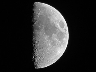 First Quarter Moon - August 24, 2012 | by spacemike
