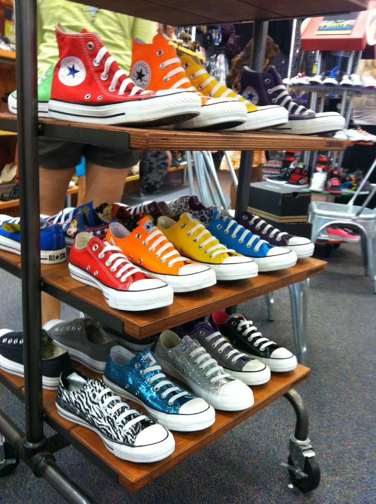 Room Rack Shoes Converse