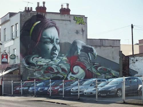 GRAFFITI-North Street, Bedminster, Bristol | DJ Leekee ...