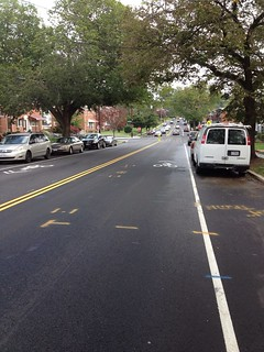 New Sharrows on Sargent Road NE | by volcrano