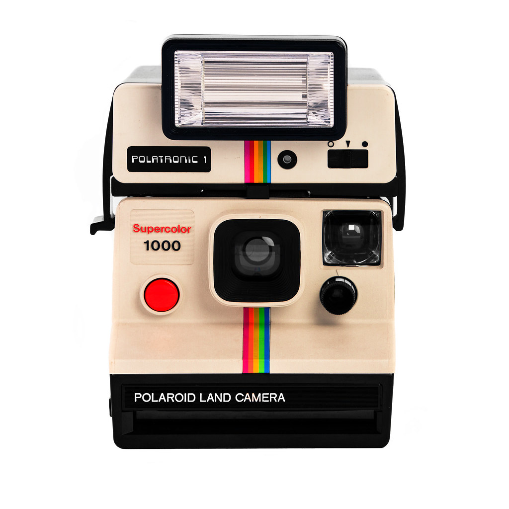 Create polaroid photo border in