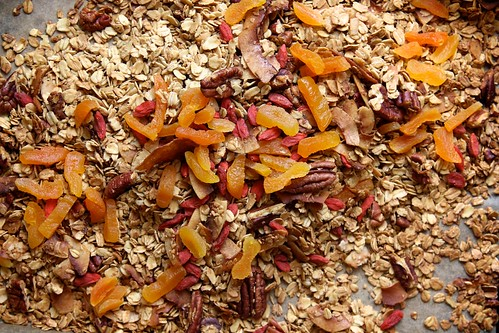maple pecan granola | by joy the baker