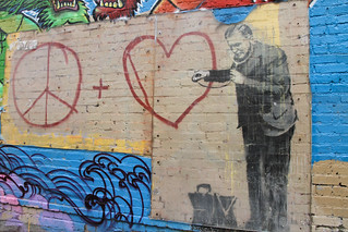 "Banksy's ""Can Someone Call a Graffiti Doctor"" 