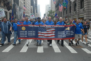 NYC Labor Day Parade 2012 | by transportworkers