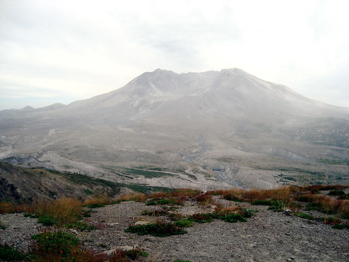 Mount St. Helens Somewhat Enshrouded | by Rozanne
