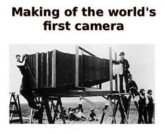 World`s first camera | My boy: Mom, how huge was the world`s… | Flickr