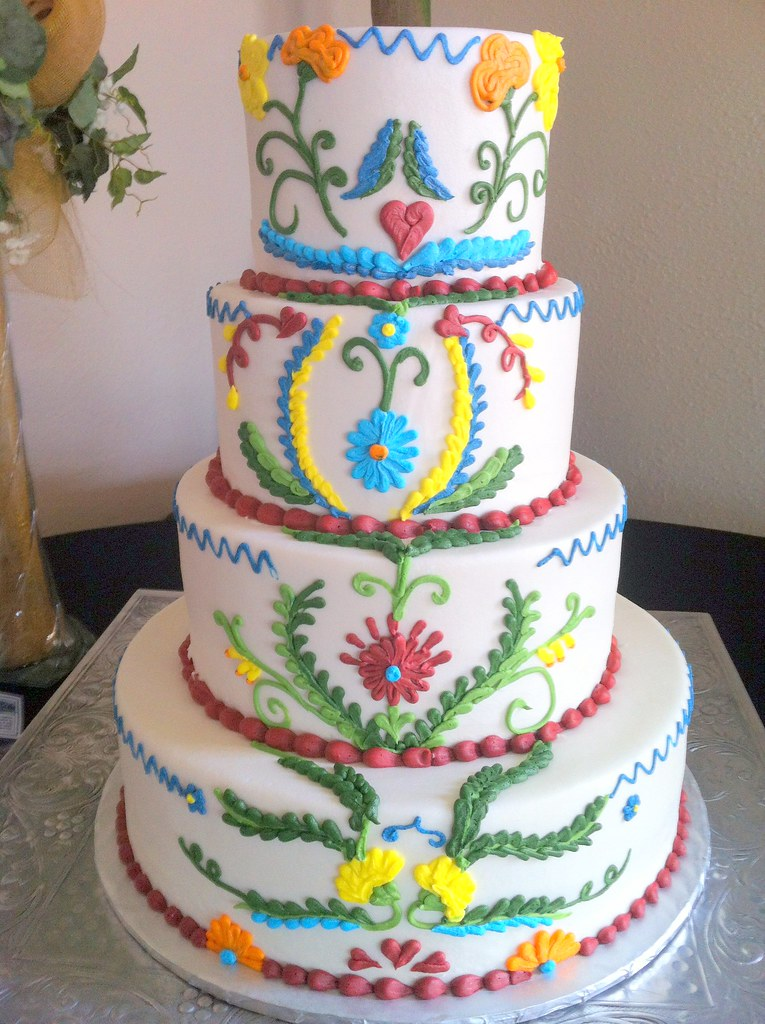 Mexican Cake Designs