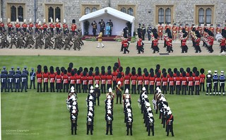 Queen's Diamond Jubilee Parade and Muster at Windsor Castle | by Defence Images