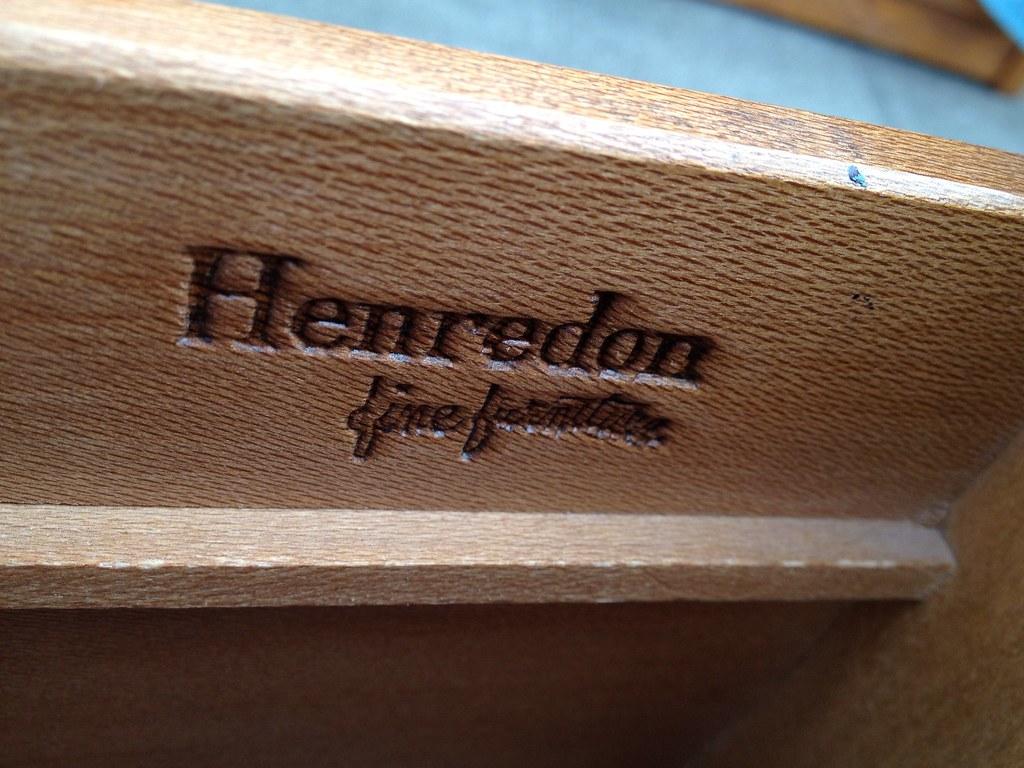 Henredon Fine Furniture Logo | All Aboard 2nd Hand Furnitureu2026 | Flickr
