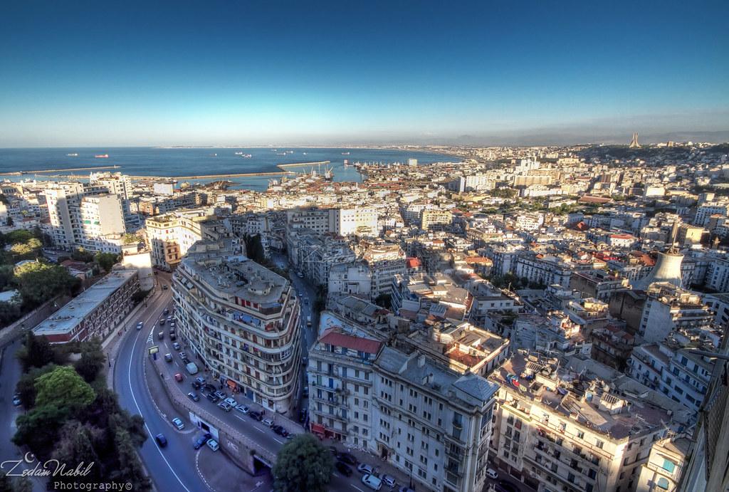 Alger paysage urbain zedamnabil flickr for Aquafortland alger piscine