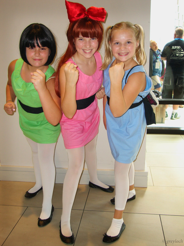 Powerpuff Girl Dress Costume