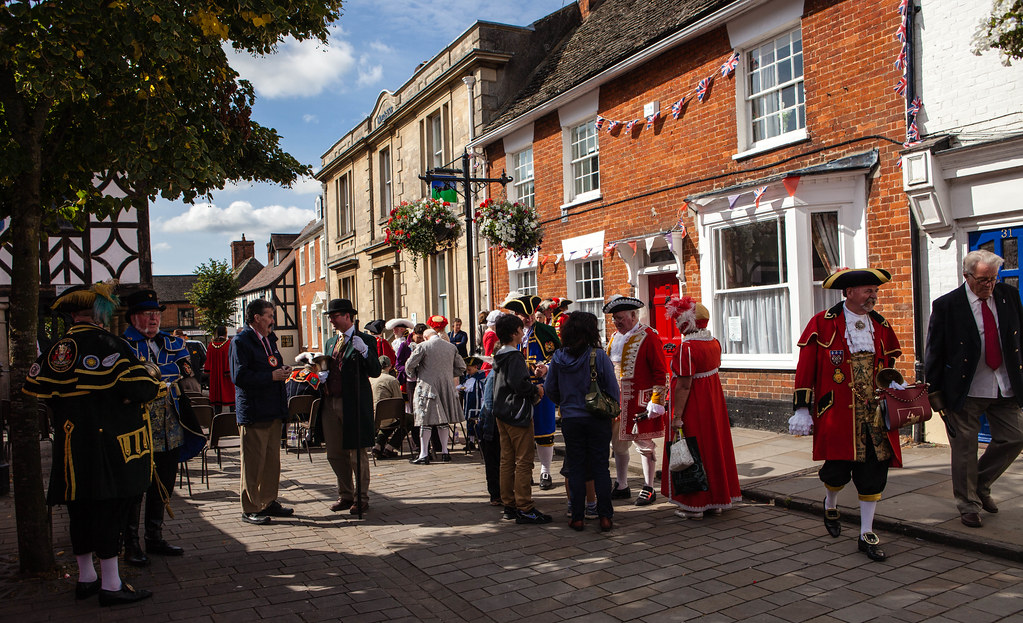 Town Criers In Royal Wootton Bassett A Contest For Flickr