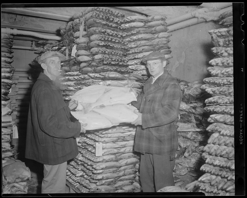by Boston Public Library Two men in freezer Commonwealth Pier Cold Storage Co. | by Boston Public Library & Two men in freezer Commonwealth Pier Cold Storage Co. | Flickr