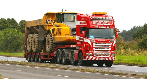 SCANIA  - TOPLOADER UK Heavy Haulage | by scotrailm 63A