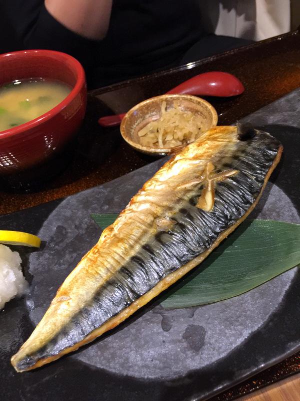 Yayoi Japanese Teishoku Restaurant Manila- Saba Shio (Mackerel)