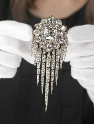 Queen Victoria S Diamond Fringe Brooch This Brooch