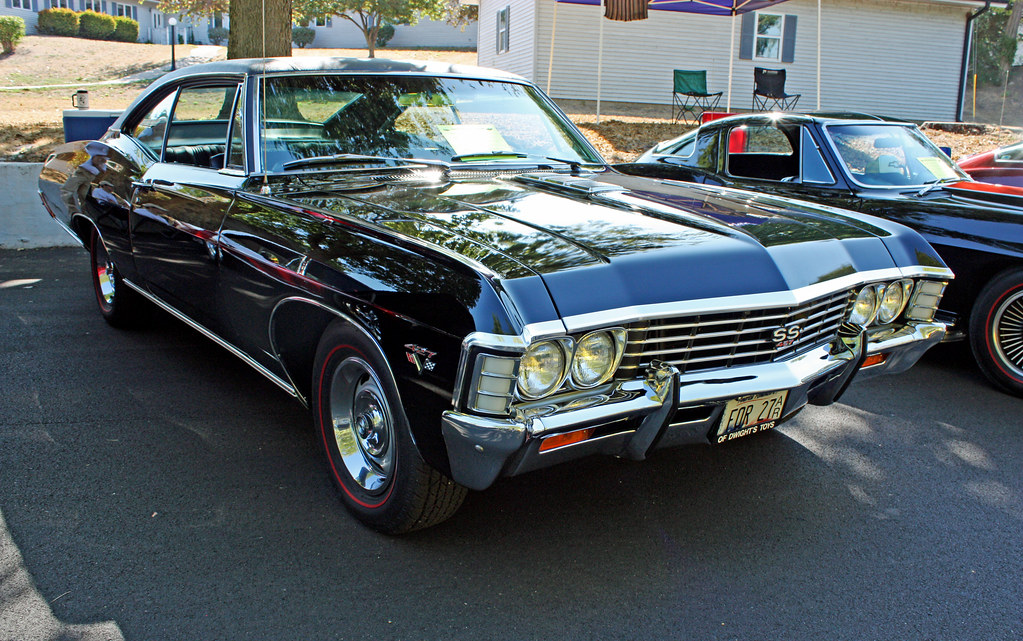 1967 Chevrolet Impala SS 427 Z24 Opt. Sport Coupe (4 of 8 ...