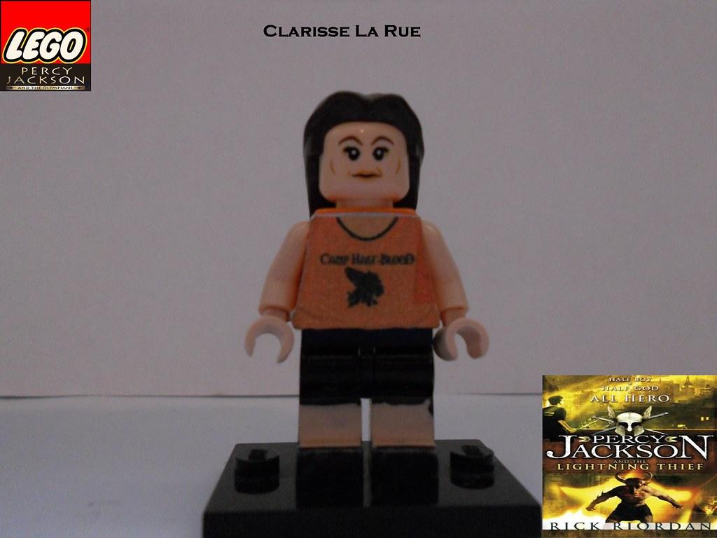 LEGO Clarisse La Rue by BC   LEGO Clarisse La Rue from ...  Lego Percy Jackson Luke