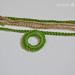 Crocheted Necklace Tutorial Step 2