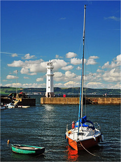 Newhaven harbour | by JACK BYERS.