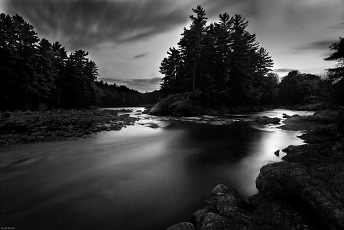 Moose River Reflections (BW) | by 10mmm