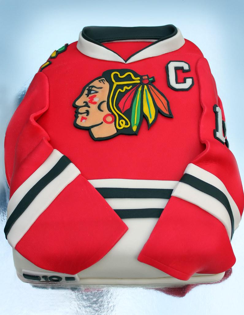 Hockey Blackhawks Cakes