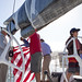 SDYC Juniors Sailing with Dennis Conner