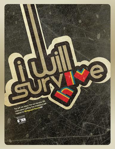 Health     HIV Prevention Survive Poster   by Brogan  amp  PartnersHiv Prevention Poster