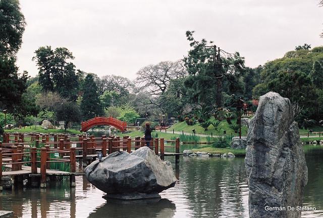 Jard n japon s japanese garden buenos aires minolta for Jardin japones