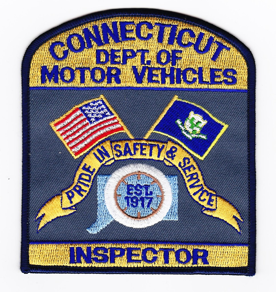 Ct State Department Of Motor Vehicles Inspector Patch Fo Flickr