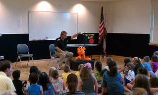 Ventriloquist Steve Chaney @ San Carlos Library | by San Mateo County Libraries