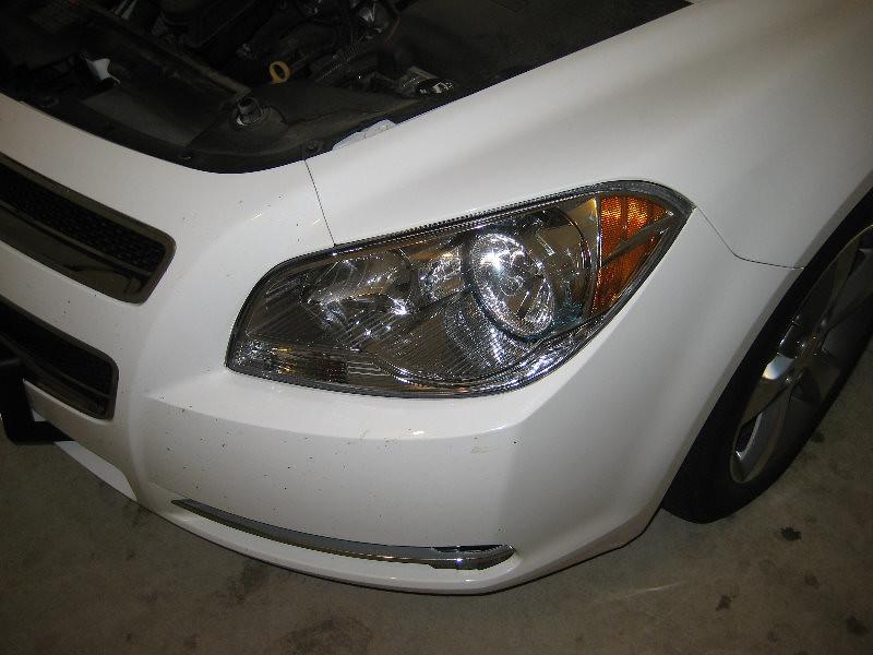 2011 Gm Chevrolet Malibu Headlight Assembly Low Beam Hi