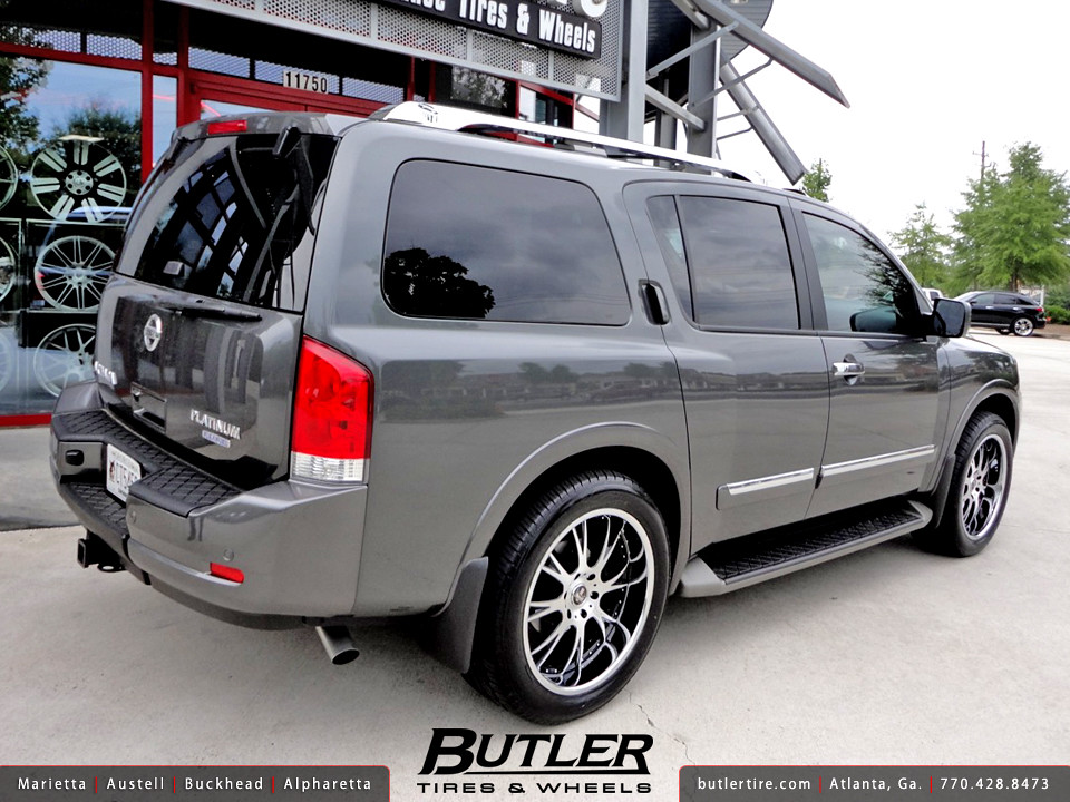 Nissan Armada with 22in Dub X-12 Wheels   Additional Picture…   Flickr
