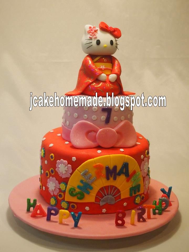 Hello Kitty Birthday Cake Happy 4th Birthday Shermaine Th Flickr