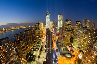 2012 Tribute in Light 9/11 Memorial Preview | by RBudhu