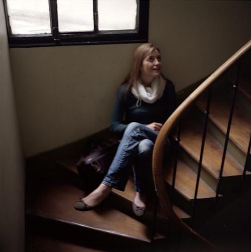 rosalie paris mamiya c330 s 80mm f 2 8 kodak portra 400 julien devaux flickr. Black Bedroom Furniture Sets. Home Design Ideas
