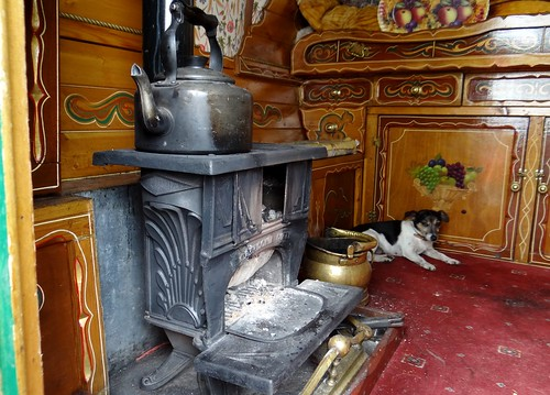 Stove Romany Van Eirlys Howard Flickr