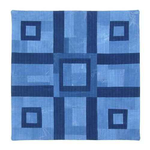 Indigo Blue Cross Quilt No. 1 | by BooDilly's