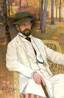 Zuloaga, Ignacio (1870-1945) - 1893 Portrait of Marques de Villamarciel (Museum of Fine Arts, Bilbao, Spain) | by RasMarley