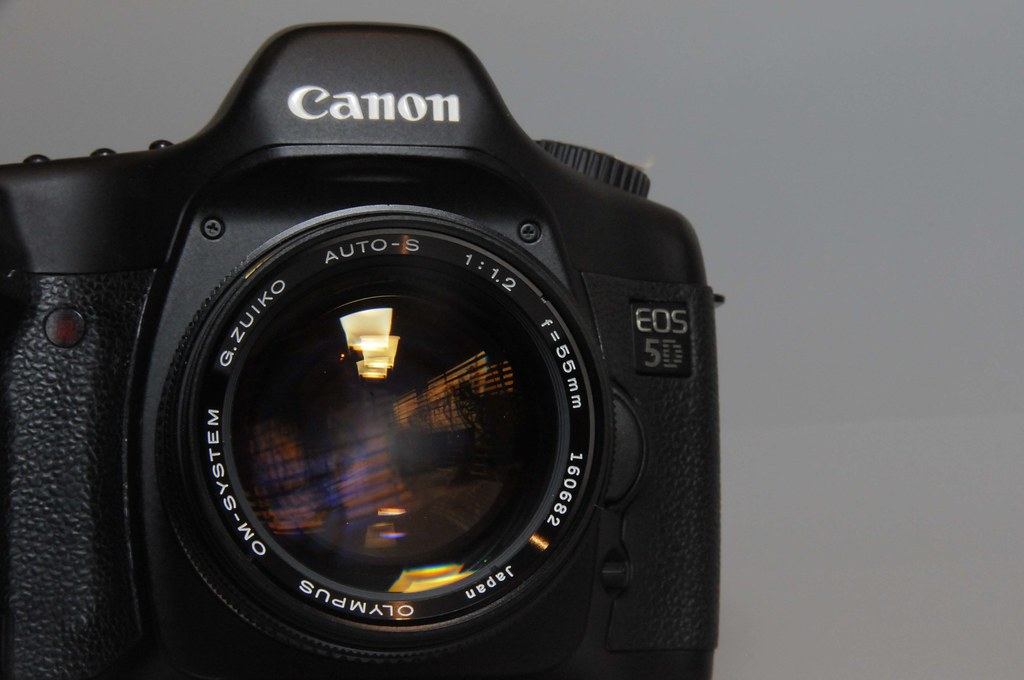 Olympus Zuiko 55mm f1.2 on Full frame Canon 5D | The amazing… | Flickr