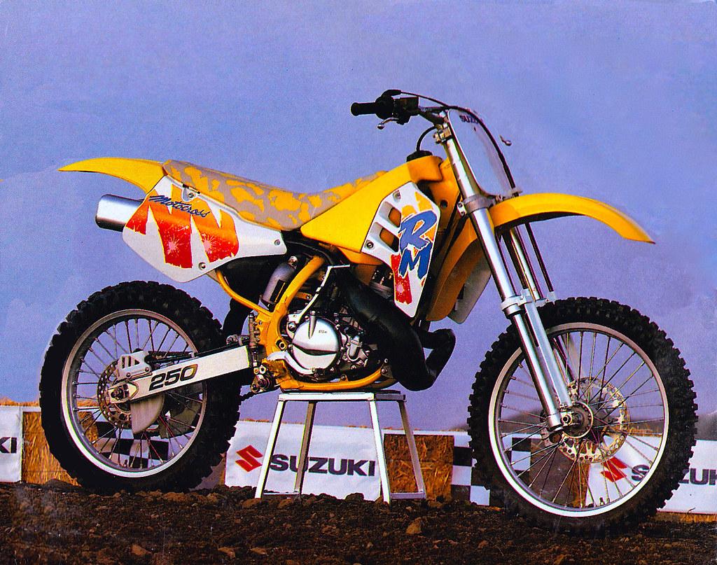1991 SUZUKI RM250 | Tony Blazier | Flickr