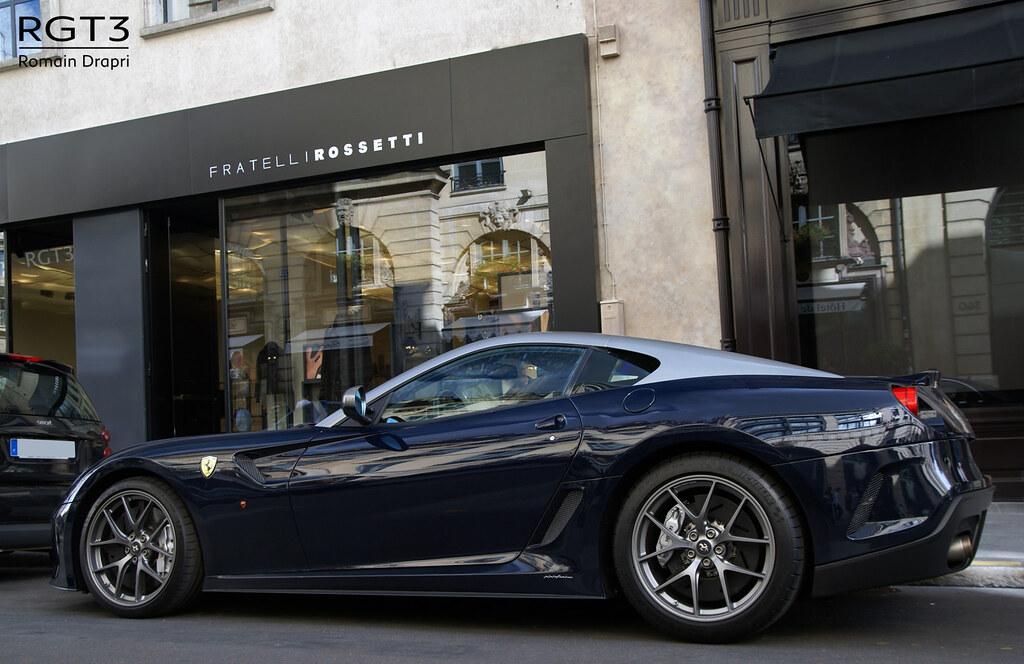 Ferrari 599 Gto Blu Pozzi Romain Drapri Flickr