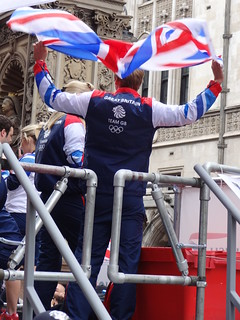 London's Olympic and Paralympic 2012 victory parade | by Mary Loosemore