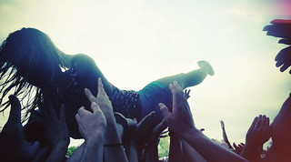 crowd surf | by umbrellaribs
