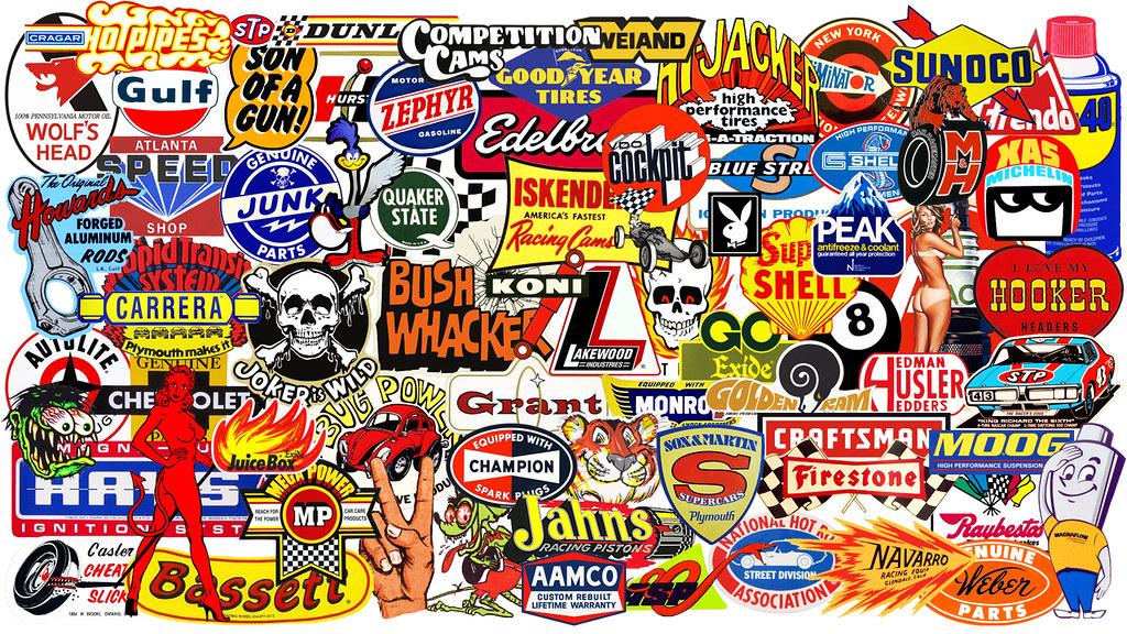 Racing decals wallpaper 2 1366 x 768 collage of mostly for Wallpaper decals