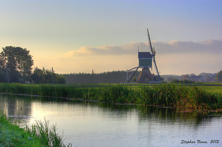 Polder on a quiet sunday morning (HDR) | by Stephan Neven