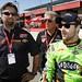 Michael Andretti, Mario Andretti and James Hinchcliffe